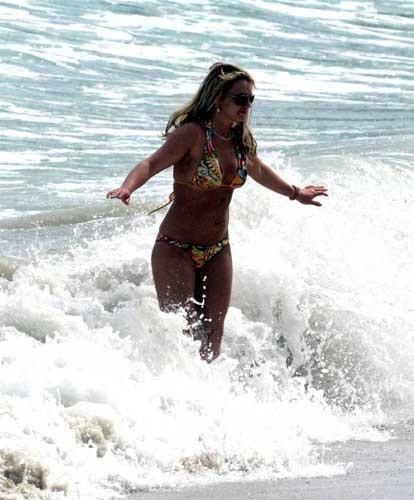 Britney Spearsın tatil keyfi