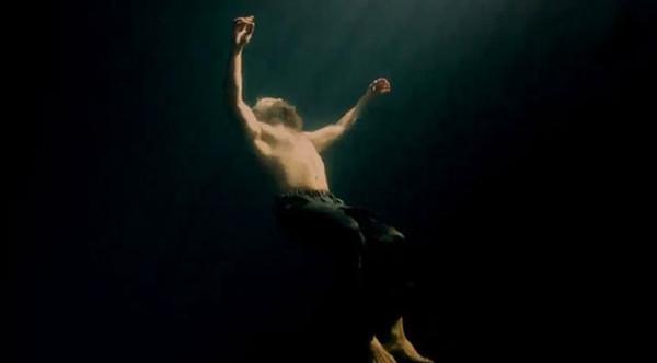 Su altında 'Muhteşem' çekim