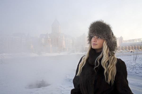 Buzlar ülkesinin güzelleri