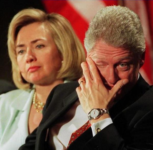 Bill Clintondan bir skandal daha !