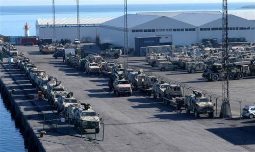 Alman askerleri Trabzondan çekiliyor