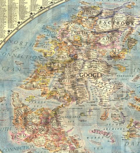Dünya İnternet Haritası 1.0