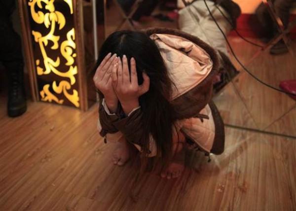Çinde görülmedik fuhuş baskını
