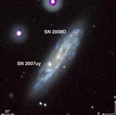 Bir yıldızın ölüm anı: Süpernova patlaması