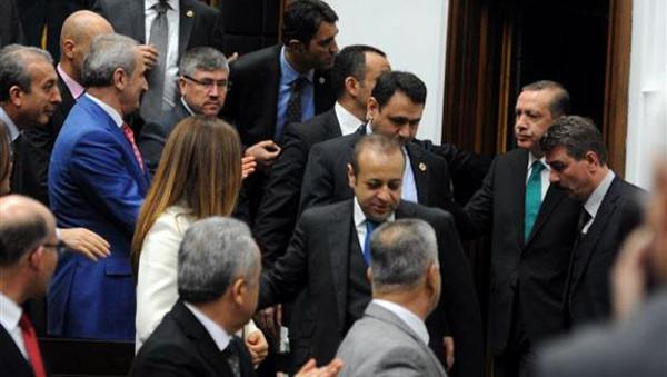 AK Parti grup toplantısından fotoğraflar