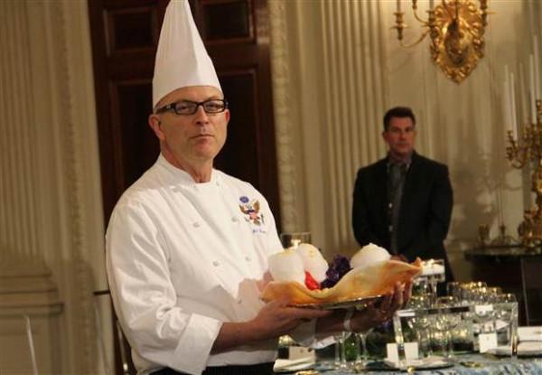 Beyaz Sarayın ağır misafiri Hollande