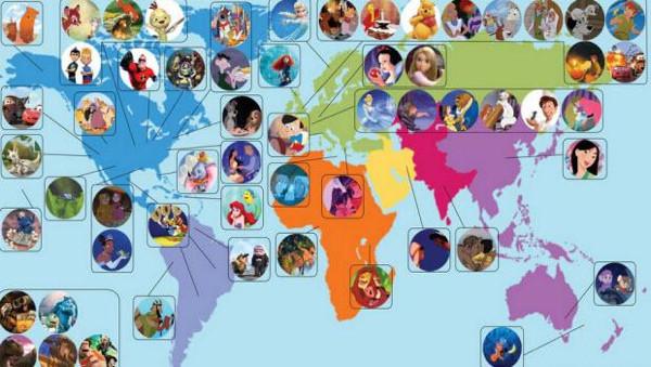 Ünlü animasyon filmleri dünyanın neresinden