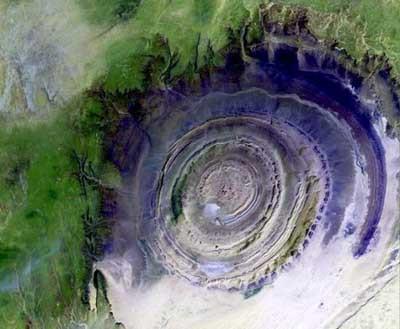 İşte Dünyanın Gözü, Richat Yapısı!