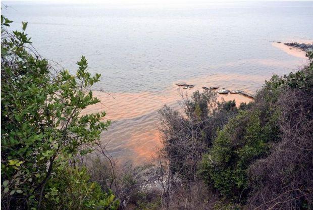 Karadenizde gizemli kızıl tabaka