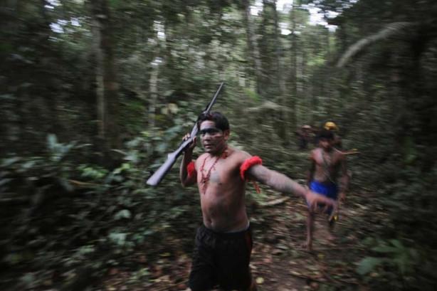 O kabile ilk kez görüntülendi