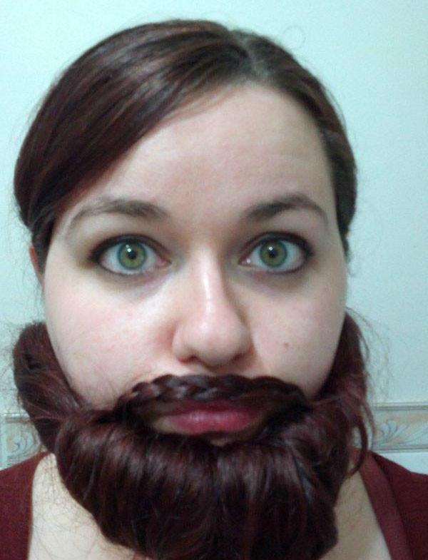 Bayan sakal modası
