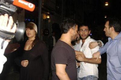 Nazan Şorayın genç sevgilisi olay yarattı
