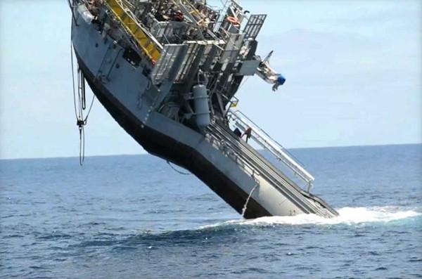 Bu gemi batması için üretildi!