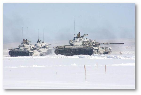 Türkiye ve Azerbaycan Birliklerinin Kış-2014 Tatbikatı nefes kesti