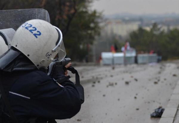 ODTÜ'de polis müdahalesi