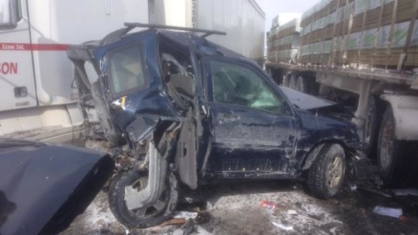 Toronto'da zincirleme kaza