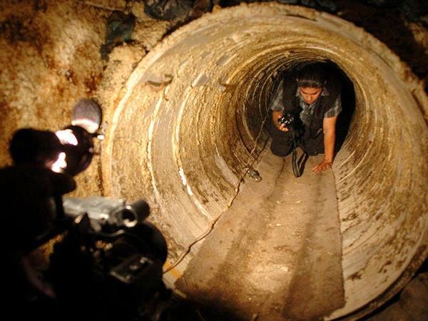 Bu tüneller görenleri hayrete düşürüyor