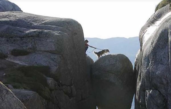Bu kayada durmak cesaret ister!