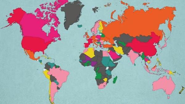 Dünyanın en çok turist çeken ülkeleri