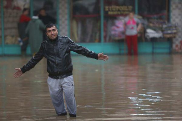 Mersin'de hayat felç oldu!