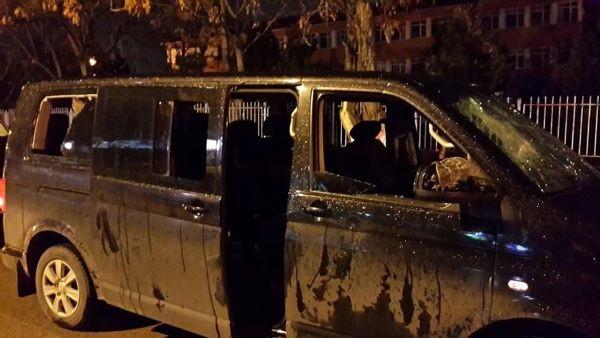 Bayrak asan CHP'lilere palalı saldırı iddiası