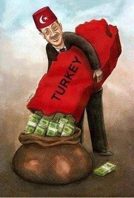 Dünya yolsuzluğu bu karikatürlerle konuşuyor