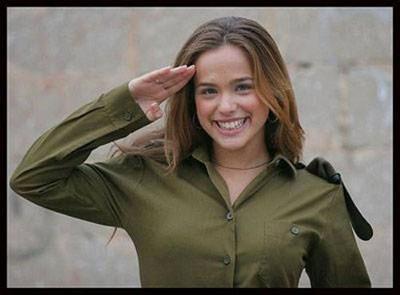 İsrailin kadın askerleri