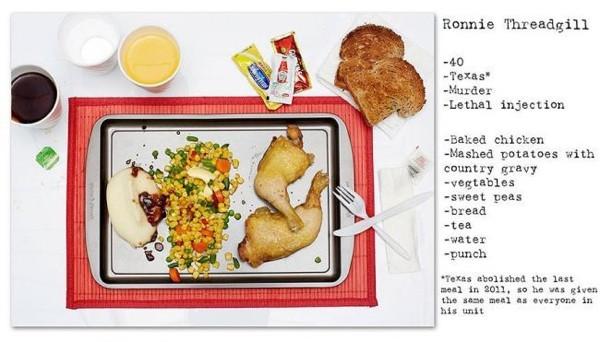 12 idam mahkumunun son yemekleri