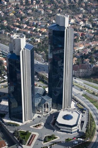 Yükseklerden İstanbul