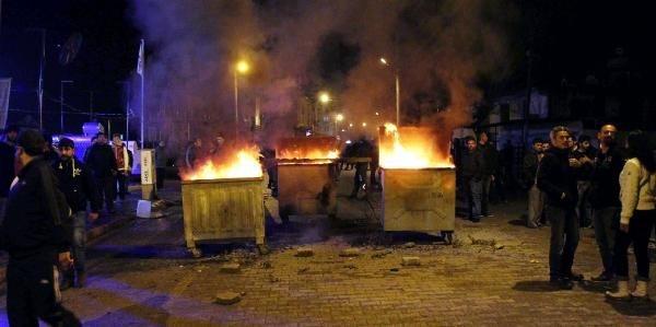 Fethiye'de çıkan olaylarda 28 kişi gözaltında