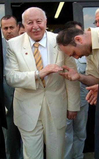 Erbakanın lüks hapishanesi