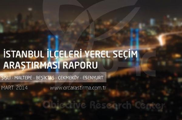 İstanbul ilçeleri yerel seçim anketi