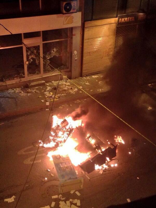 İstanbul'da Berkin Elvan eylemine müdahale !