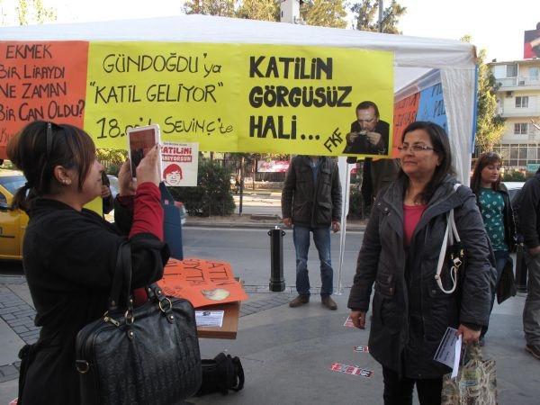 Erdoğan'a miting meydanında protesto