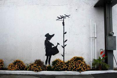 İşte Banksynin mükemmel grafitileri