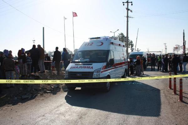 Mersin'de tren kazası: 9 ölü