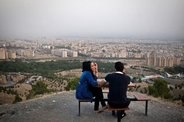 İran gençliğini hiç böyle görmediniz