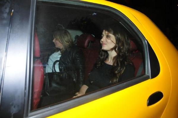 Taksiciyi çıldırttı!