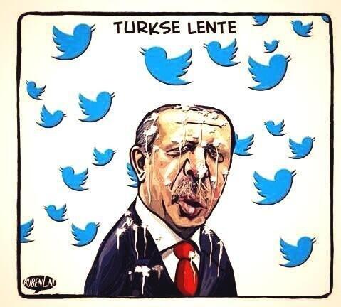 'Türkiye Twitter'ı korkakça karanlığa gömdü'