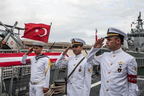 Barbaros Türk Deniz Görev Grubu, Tunus'ta