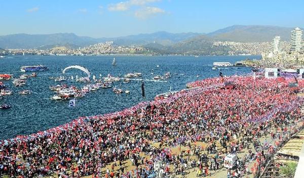 CHP'nin İzmir mitingi