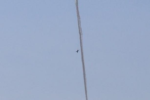 İşte Suriye uçağının düşürülme anı