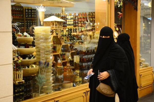 Arap turist kadınlar 'Süleyman'ı görünce..
