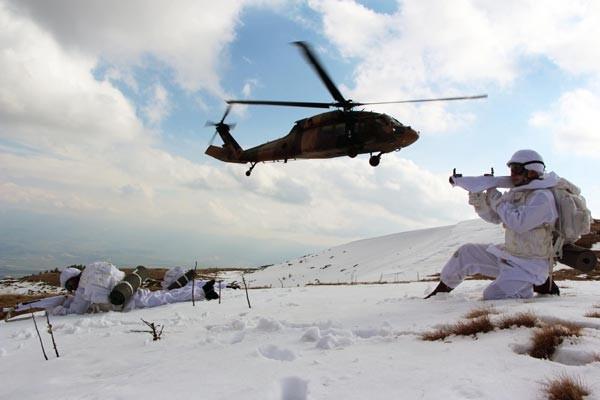 Türk Ramboları Köroğlu'nun dağlarında
