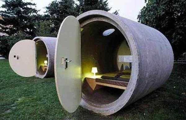 En tuhaf otel odaları