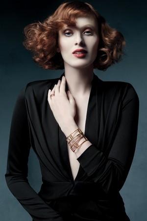 Tiffany & Co.'nun yeni kampanya yüzü: Karen Elson