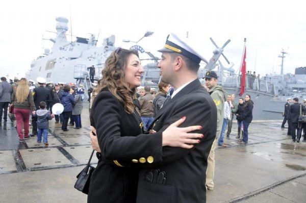 Türk gemileri Moritanya'ya ulaştı