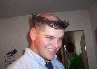 En garip saç modelleri