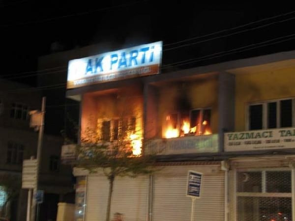 Viranşehir'de gergin gece