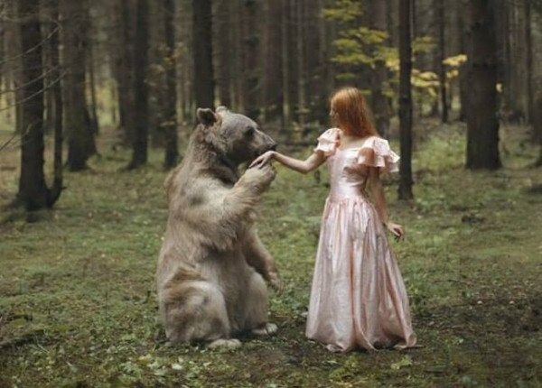 Bu kadınlar hayvanlardan korkmuyorlar